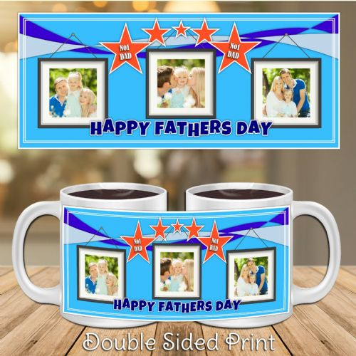 Personalised Best Dad Happy Fathers Day PHOTO Gift Mug N27